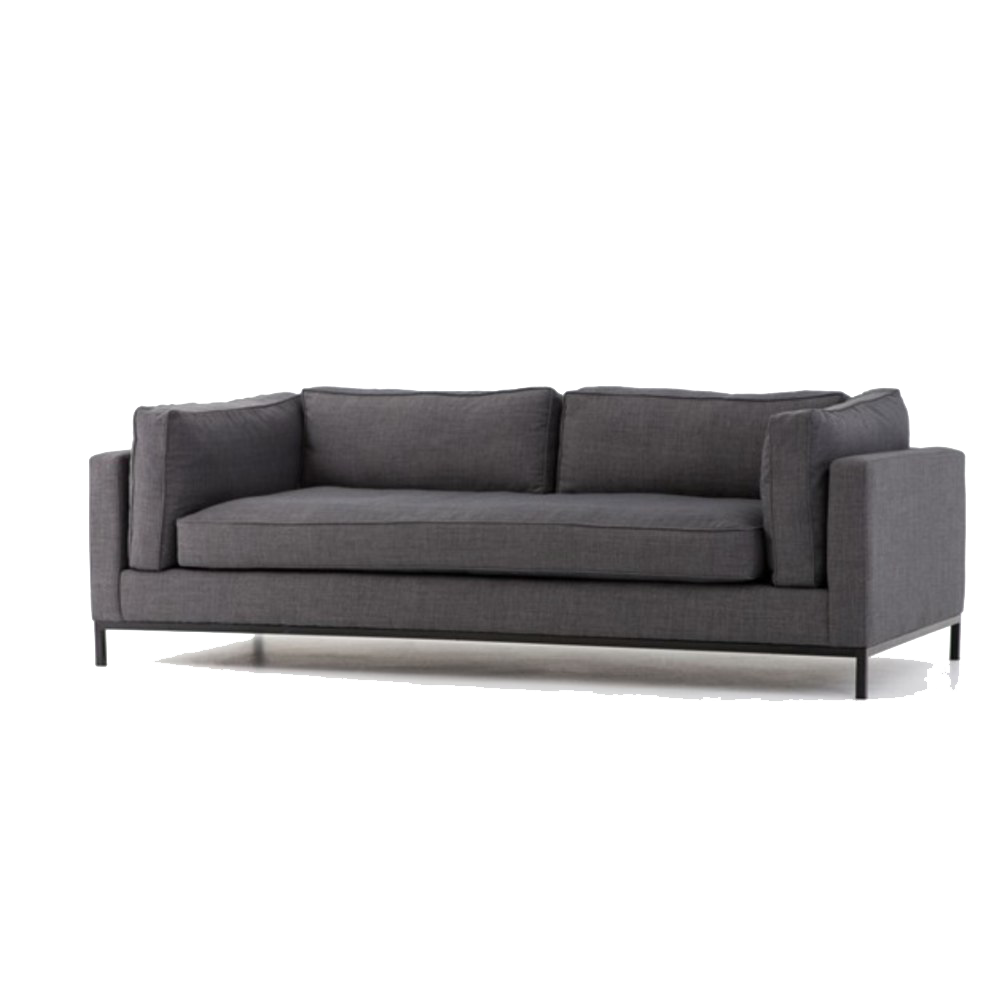 Modern Couch PNG Clipart.