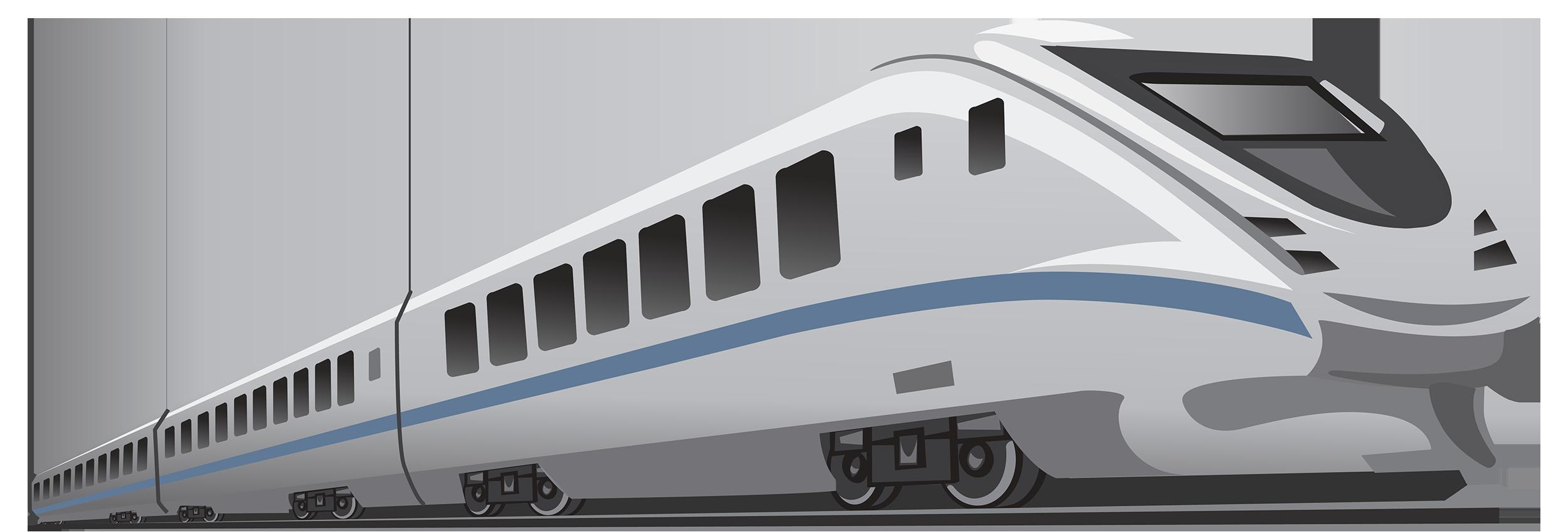 Modern Train PNG Clipart.