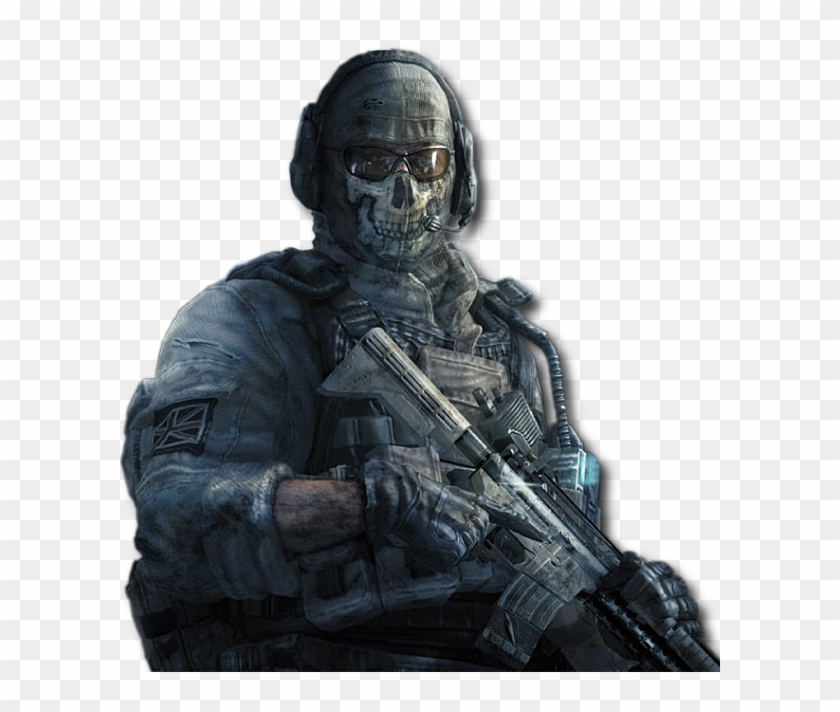Cod Ghost Png.