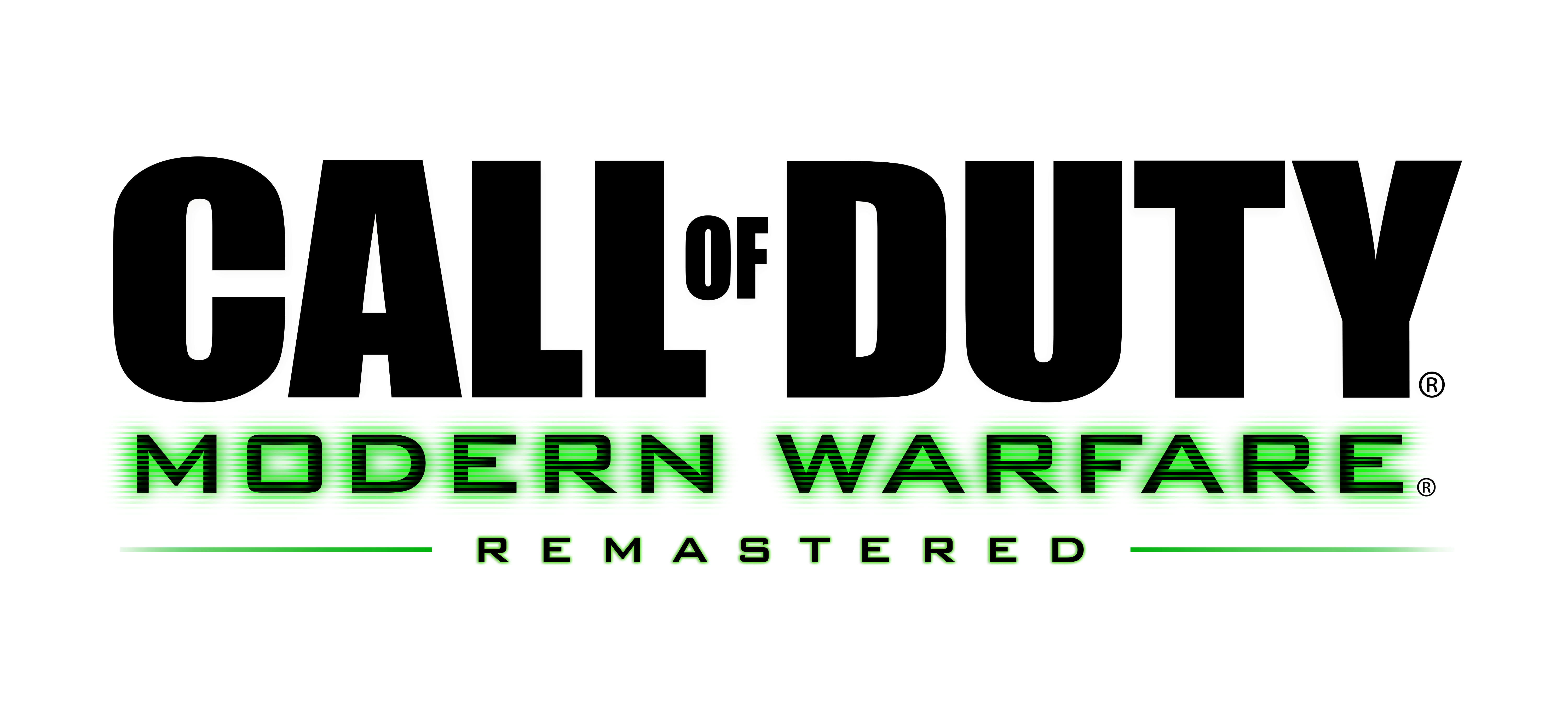 Call Of Duty Modern Warfare Remastered Png & Free Call Of.