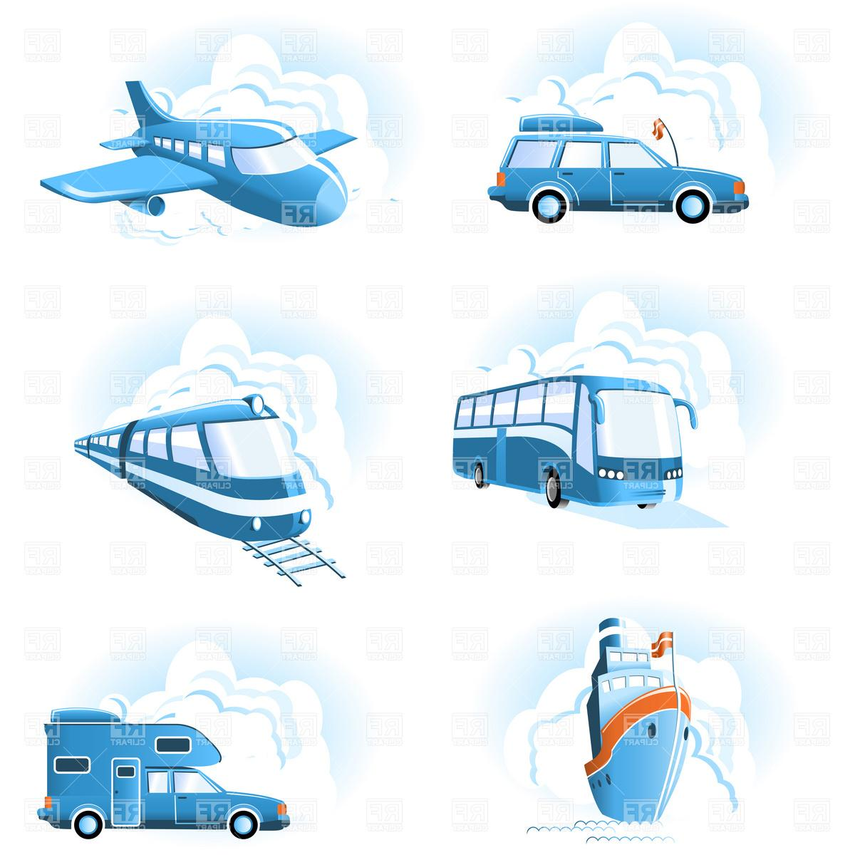 Best HD Modes Of Transportation Clip Art Image » Free Vector.