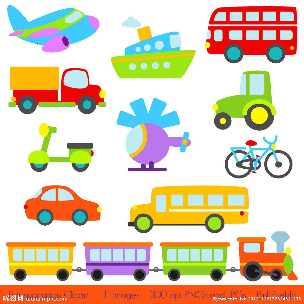 Road Transport Drawing Images.