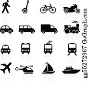Mode Of Transportation Clip Art.