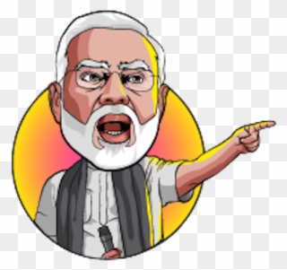 These Modi Face Png.