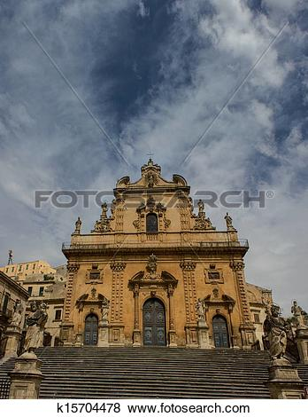 Pictures of Modica, St. Peter k15704478.