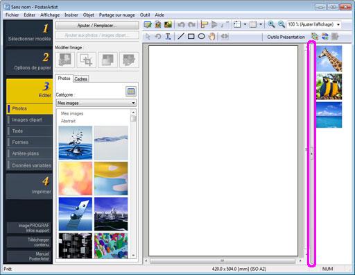 Modifier les images clipart.