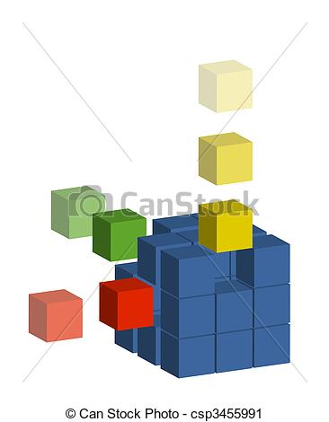 Clipart of Building Block.