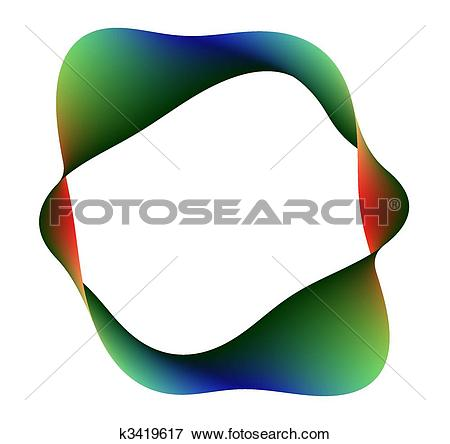 Stock Illustration of rainbow moebius k3419617.