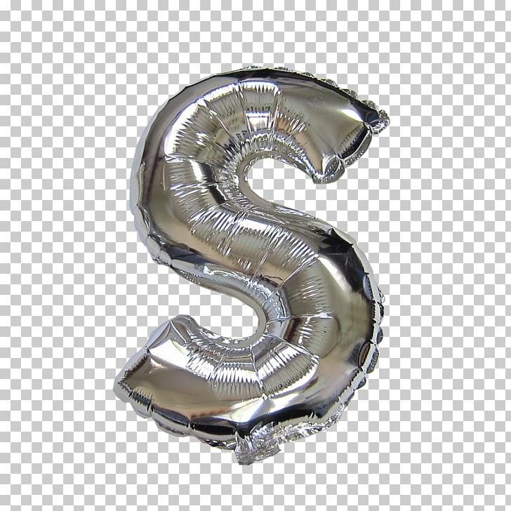 Silver Moes Gymnastics Academy Balloon BoPET Metal, silver.