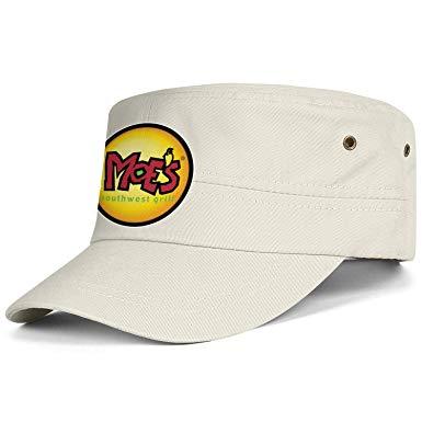 Amazon.com: Moes Southwest Grill Logo Men Hats Adjustable.