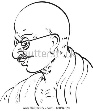 Mahatma gandhi in vector free vector download (4 Free vector) for.