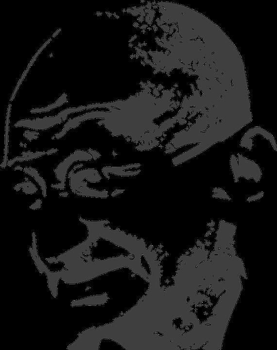 Free photo Mohandas Karamchand Gandhi Pacifist Mahatma Gandhi.