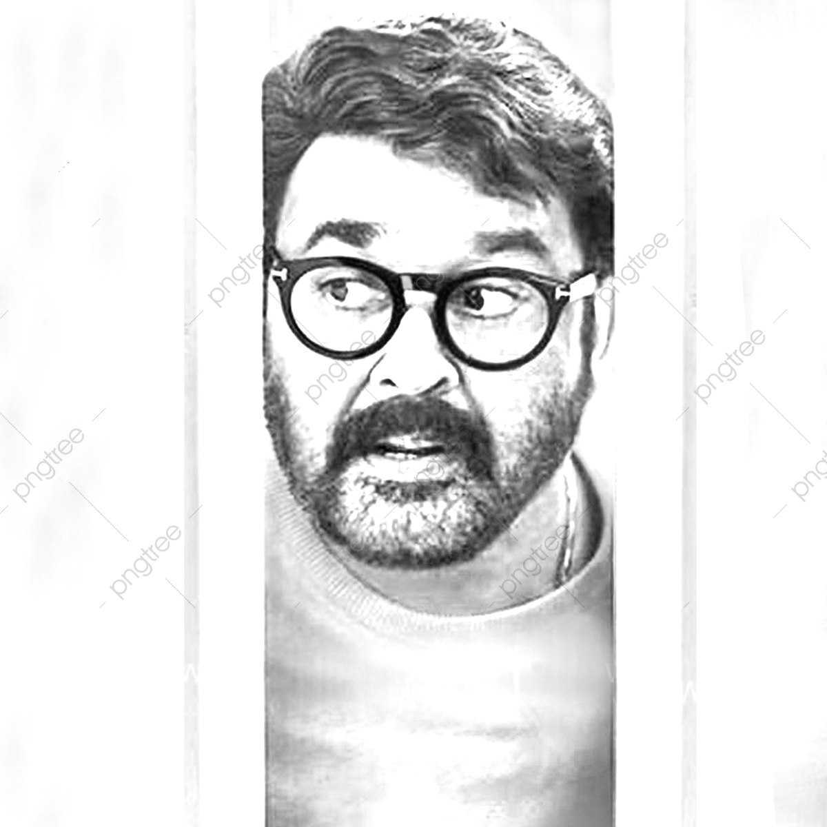Mohanlal, Mohenlal, The Compleate Actor PNG Transparent.