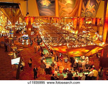 Stock Image of Uncasville, CT, Connecticut, Mohegan Sun Casino.