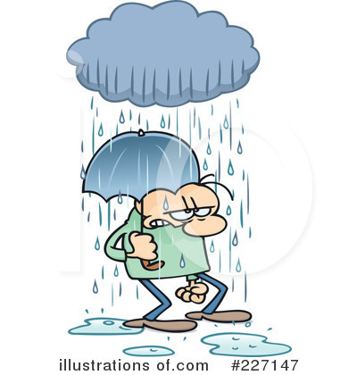 Clip Art Of Chance Of Rain Clipart.