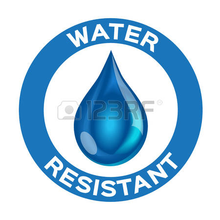 Water resistant clipart.