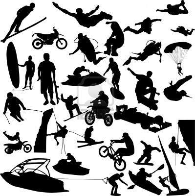 Outdoor Sports Clipart.
