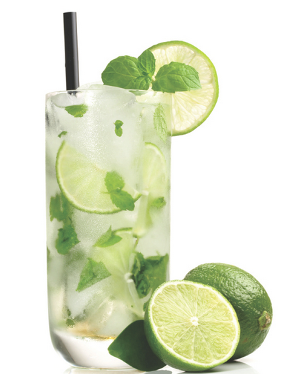 The Spicy Olive's Mock Mojito.