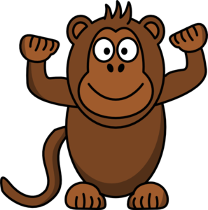 Free monkey clipart.