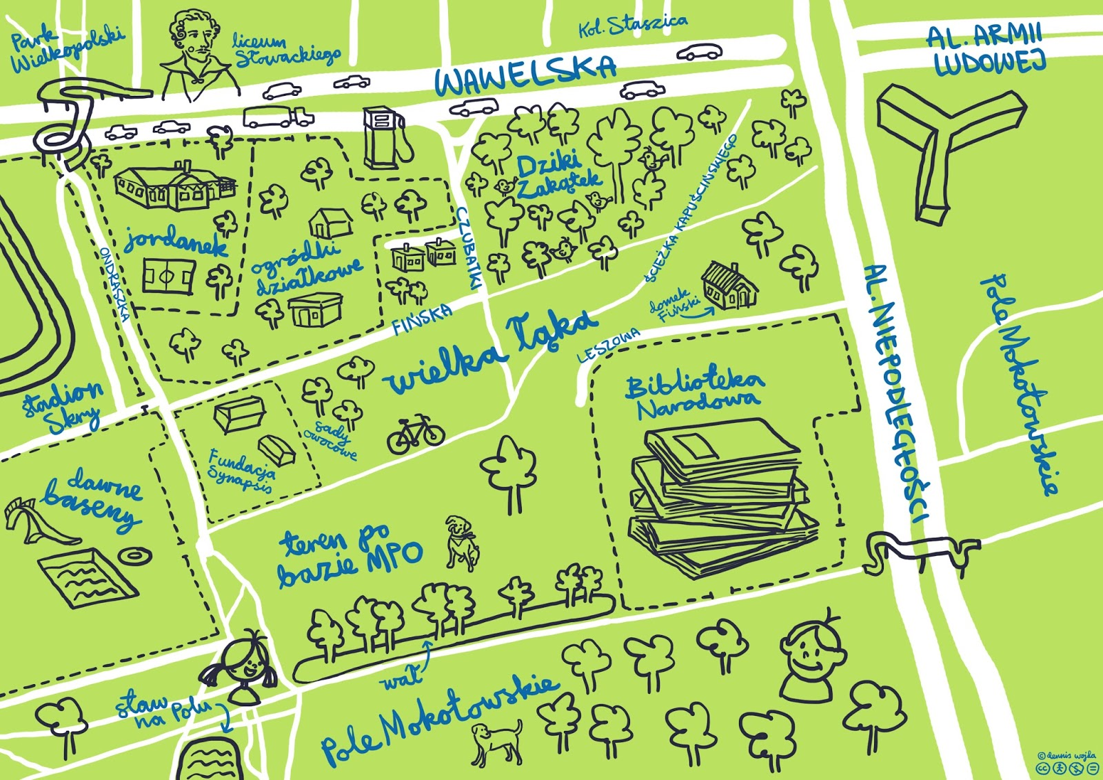 Dennissimo: Moko Map.