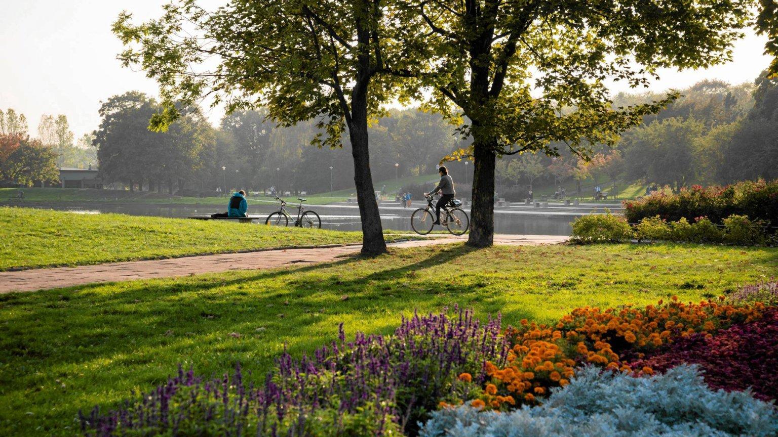 Best outdoor summer spots in Warsaw.