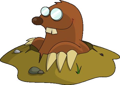 Mole Clipart.