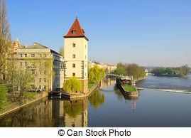 Stock Photography of Prague.
