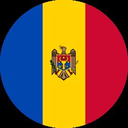 Moldova flag clipart.