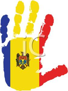of Moldova Handprint.