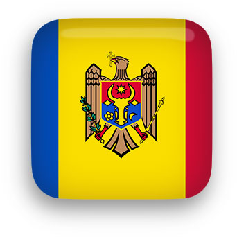 Free Animated Moldova Flags.