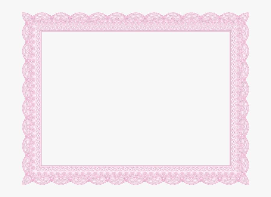Certificate Border Png.