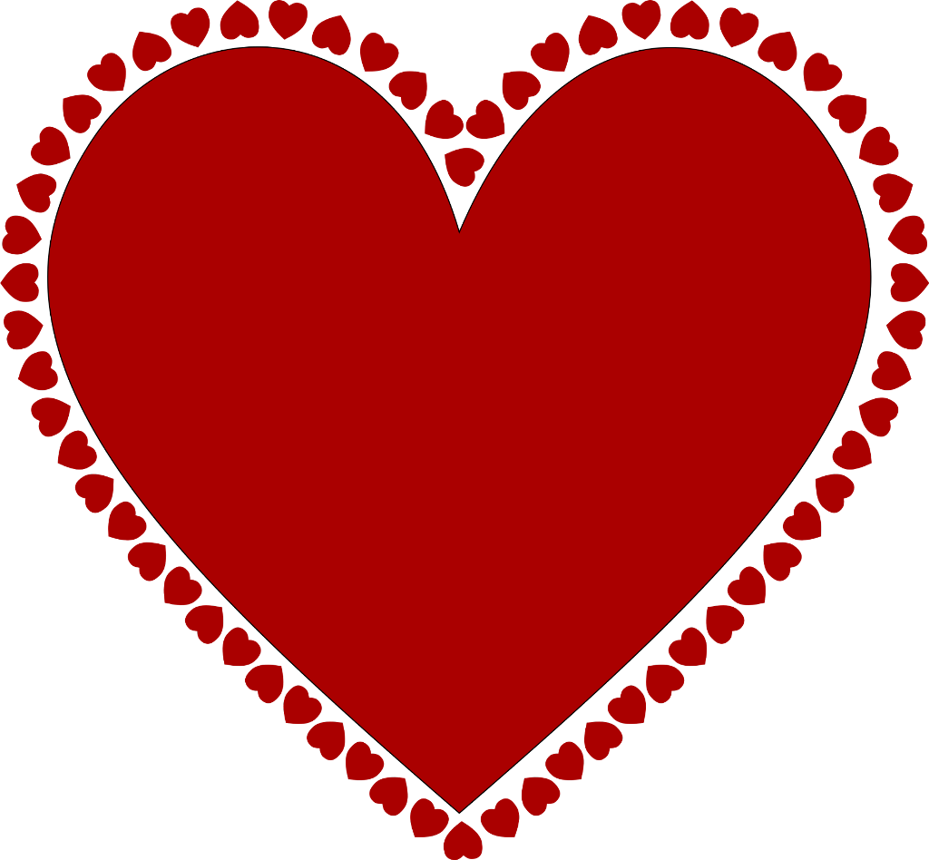 coração moldura molduravernelha clip art clipart coraca.