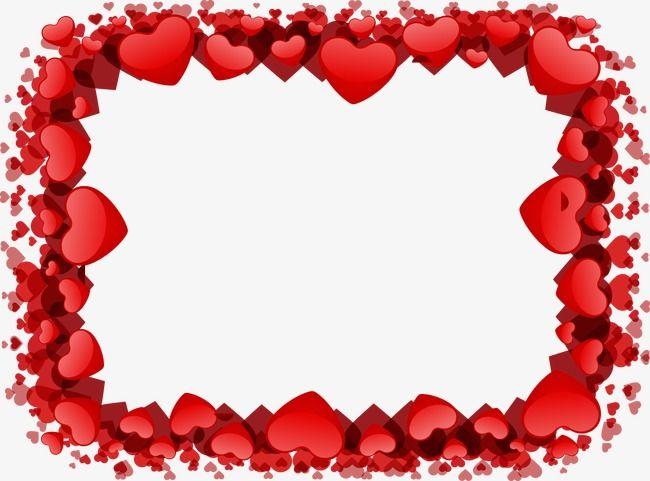 Heart Shaped Frame, Frame, Creative Wedding PNG Transparent.