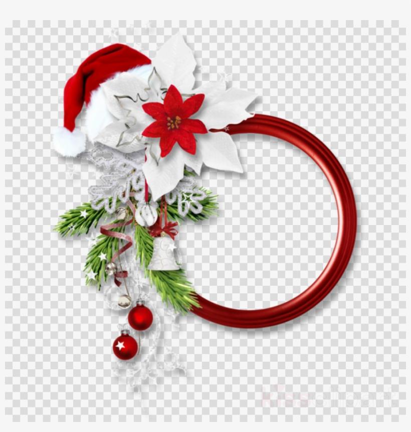 Png Christmas Border Clipart Santa Claus Borders And.