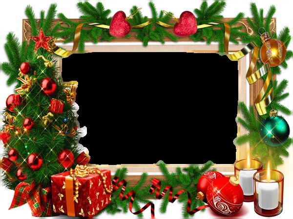 Molduras de Natal para Fotos.