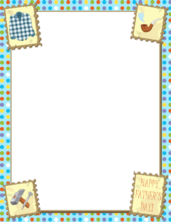 Father\'s Day Border.