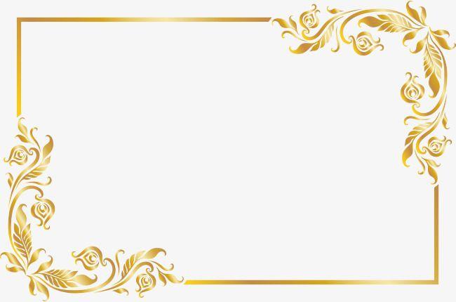 Com Moldura Dourada, Golden, Timbo, A Textura. Arquivo PNG e.