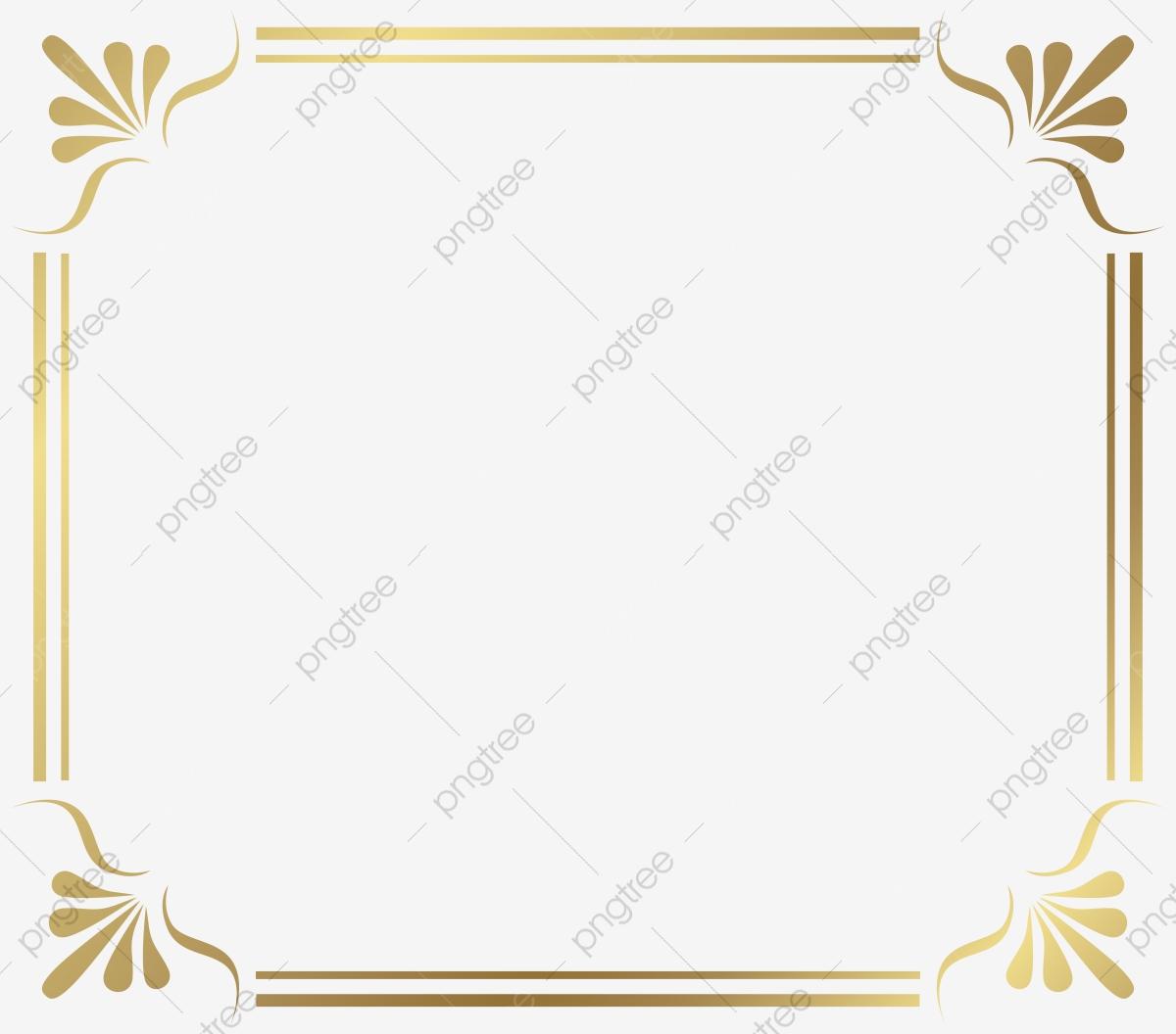 Moldura Dourada Com Imagens Png , Golden, Moldura, Padrão.