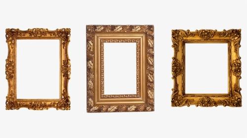 Moldura Dourada PNG Images, Transparent Moldura Dourada.