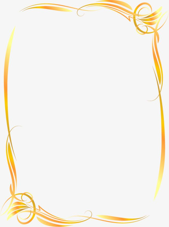 Ornate Gold Frame Vector, Frame, Border Gold, Border Vector.