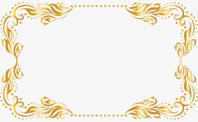 Golden Tree Rattan Frame, Tree Clipart, Frame Clipart, Gold.