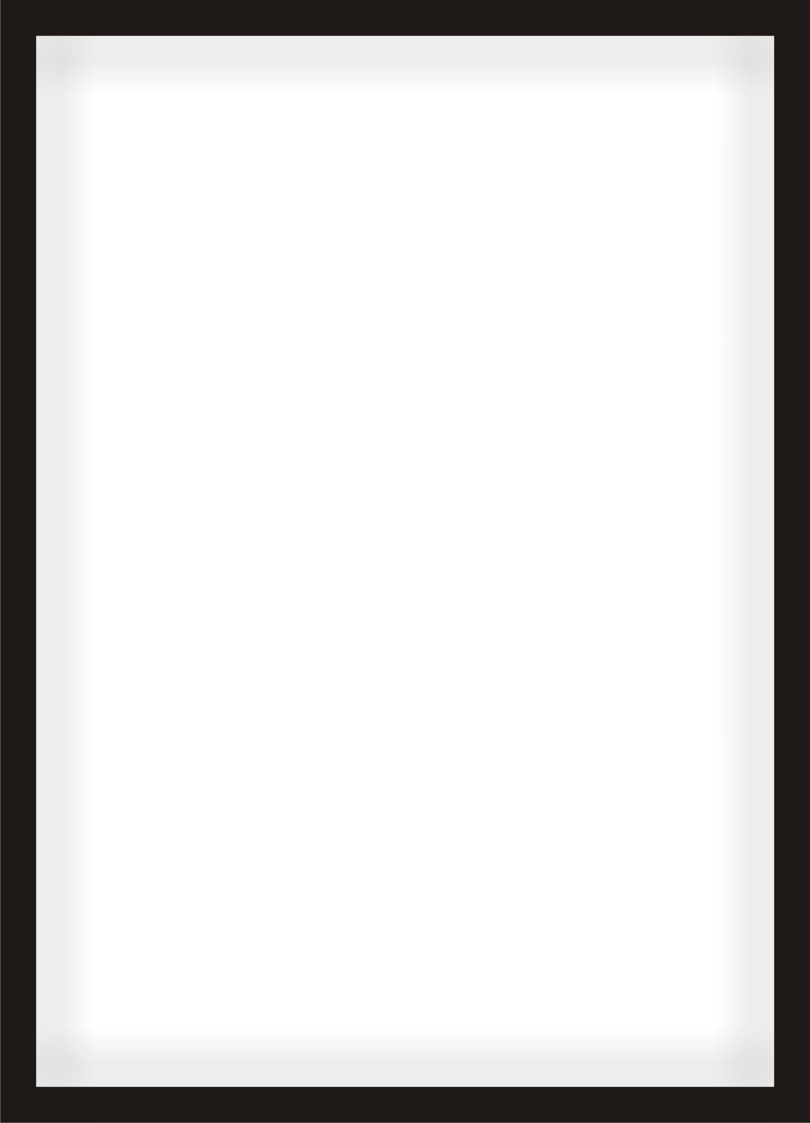 Moldura Vertical Média com Vidro.