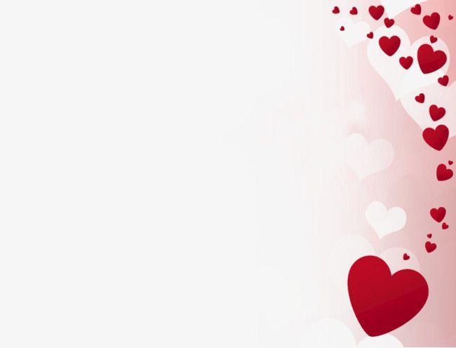 Moldura Em Forma De Coração Vermelho.