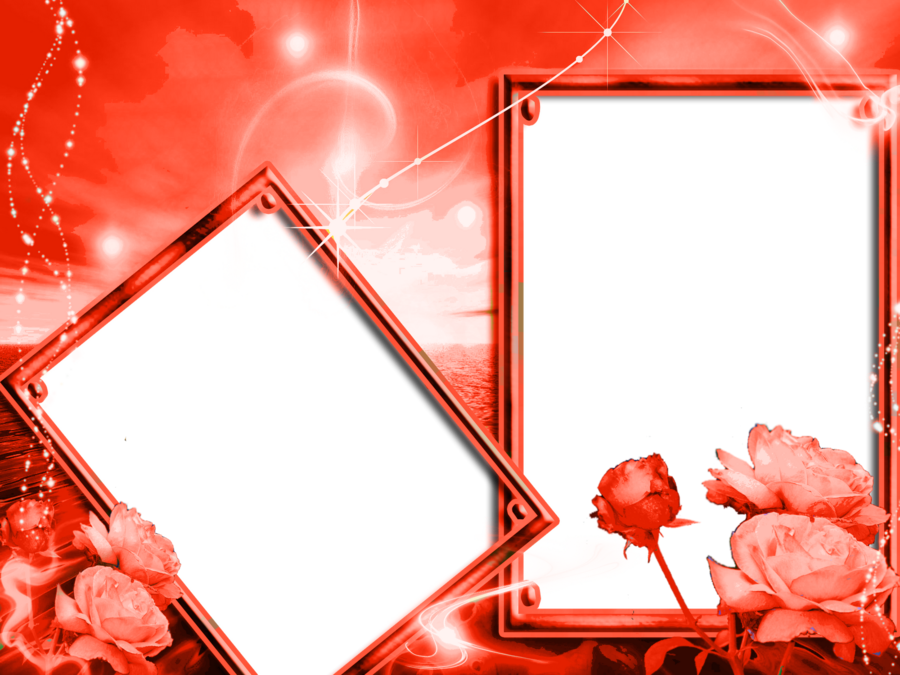 Red Background Frame clipart.