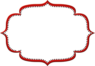 Vermelho Arabesco e Preto.