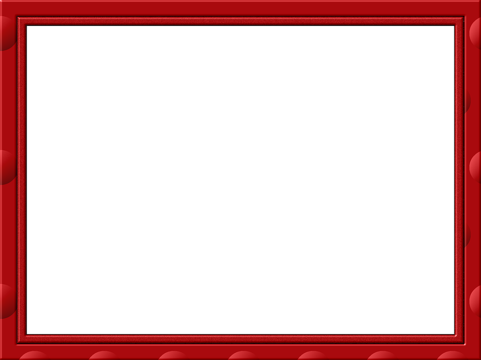 Moldura vermelha png 2 » PNG Image.