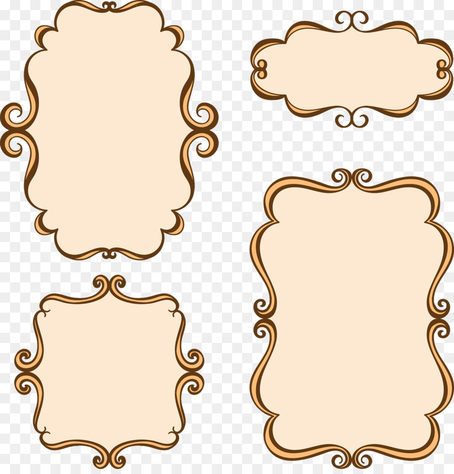 Label Template clipart.