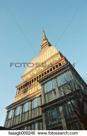 Stock Images of Italy, Turin, Mole Antonelliana (Museum of Cinema.