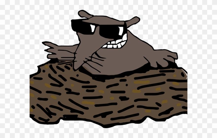 Mole Clipart Molehill.