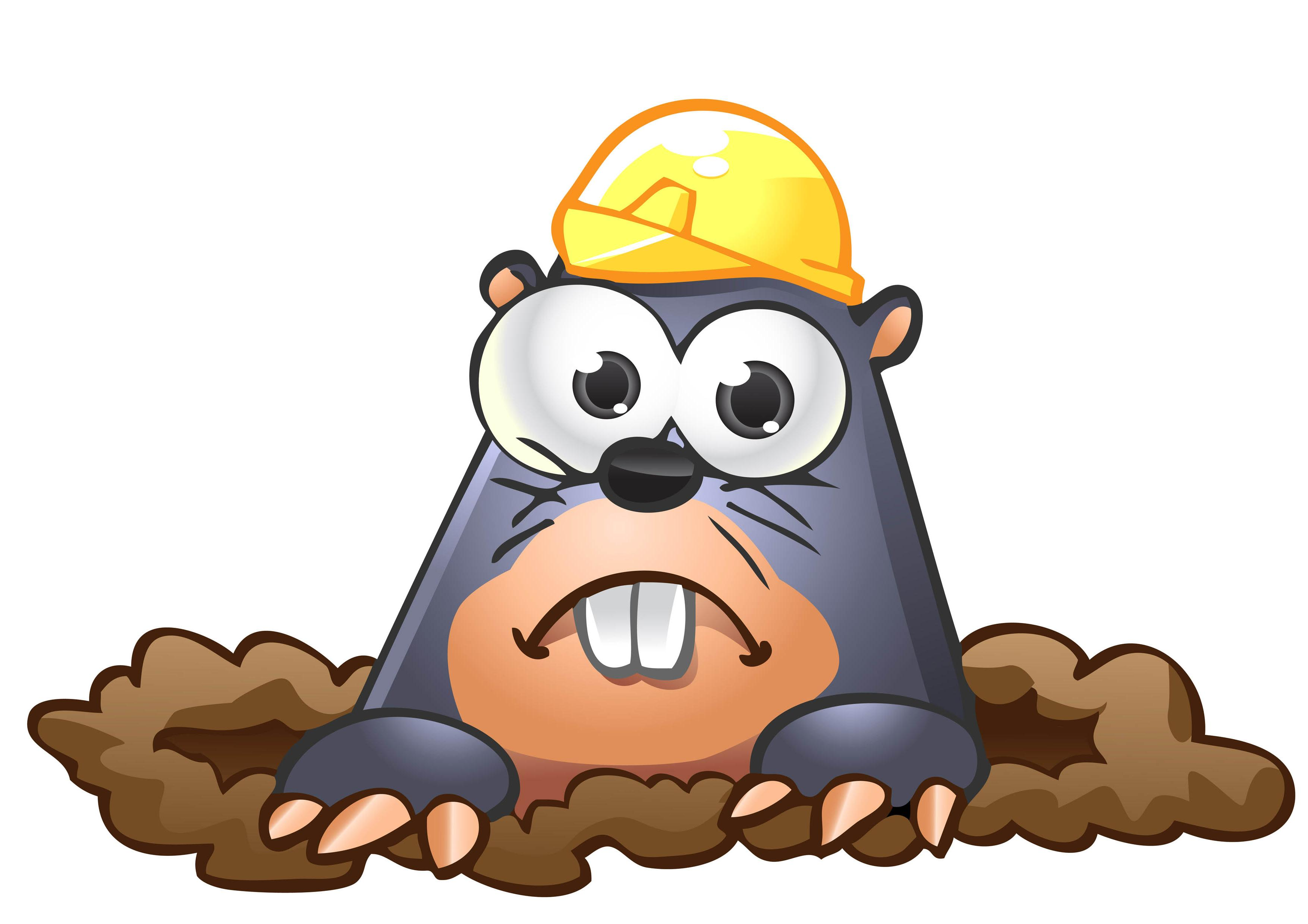 Collection of Mole clipart.